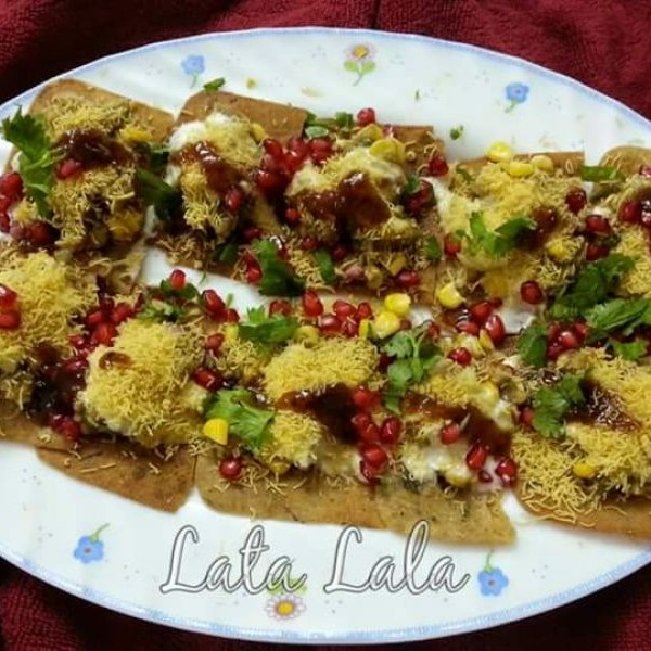 Photo of khakhra Chaat by Lata Lala at BetterButter