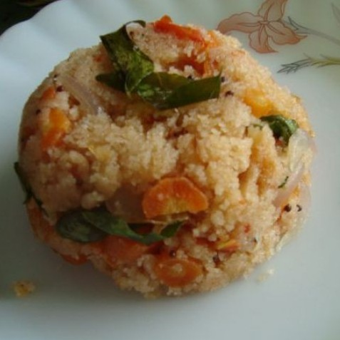 Photo of Tri-coloured Upma by Vertika Srivastava at BetterButter