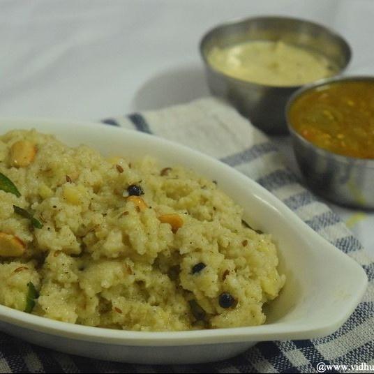 Photo of Kodo Millet Ven Pongal by Srividhya Ravikumar at BetterButter