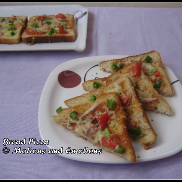 Photo of Bread Pizza by Amrita Roy at BetterButter