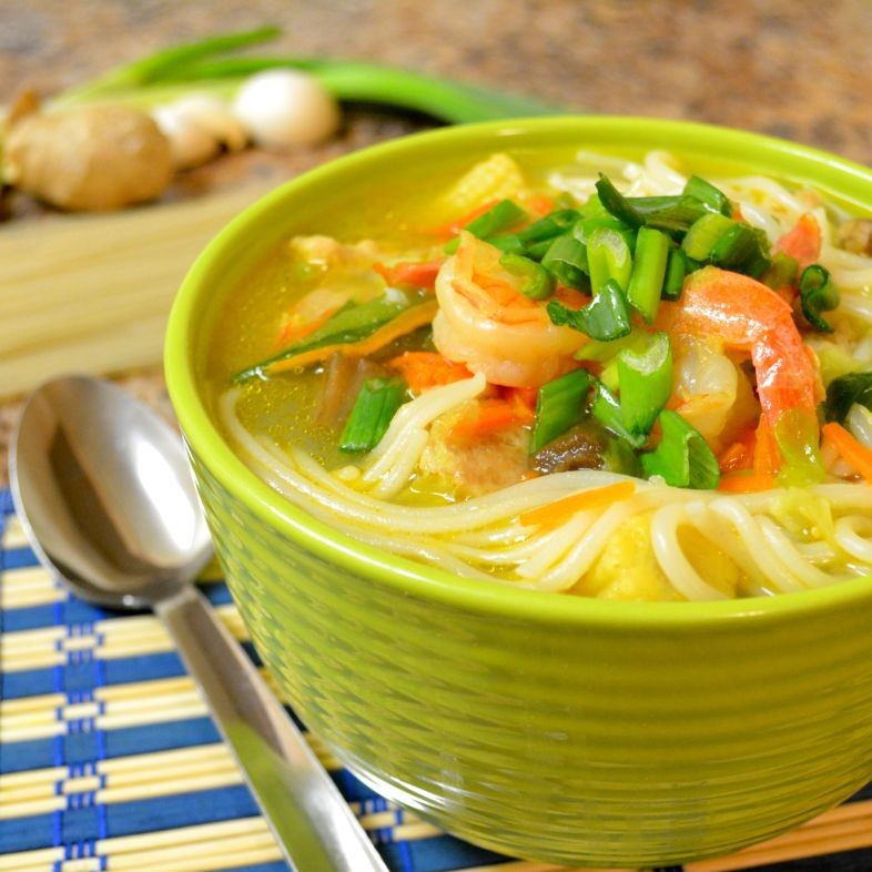 How to make Rice Noodles Soup
