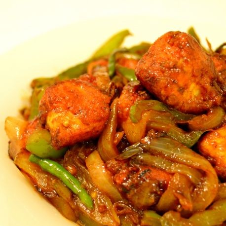 How to make Dry Chilli Paneer (indo-chinese style)