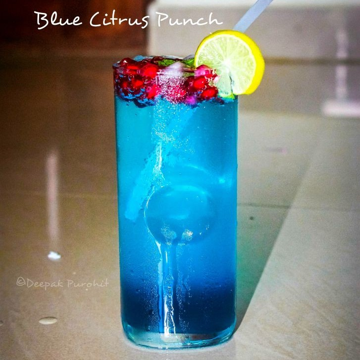 How to make Blue Citrus Punch