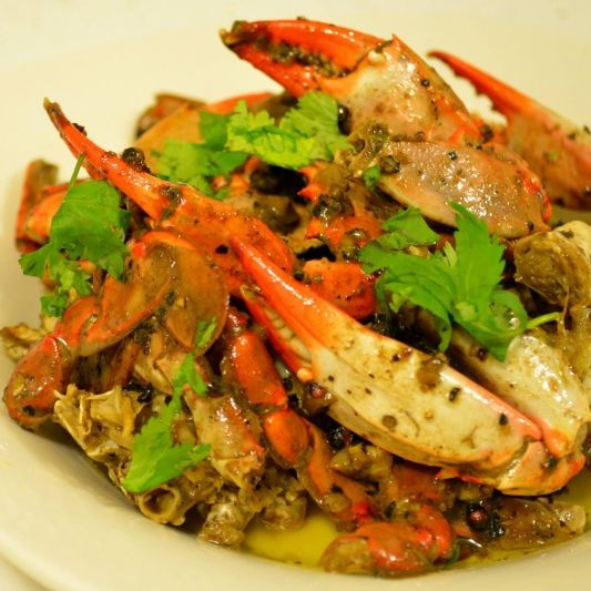 Photo of Butter Pepper Garlic Crab by Shonali Debnath at BetterButter