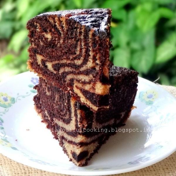 Photo of Chocolate Marble Cake (Vegan) by Namita Tiwari at BetterButter