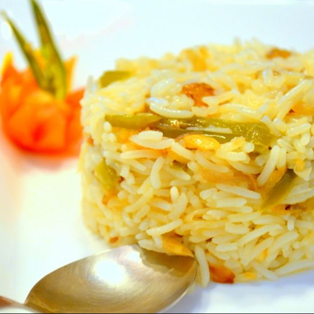 Photo of Capsicum Onion Pulao by Shonali Debnath at BetterButter