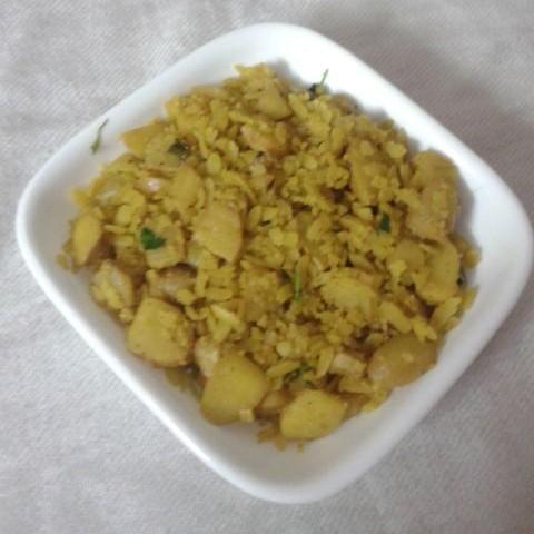 Photo of Singhara poha by Kajal Singh at BetterButter