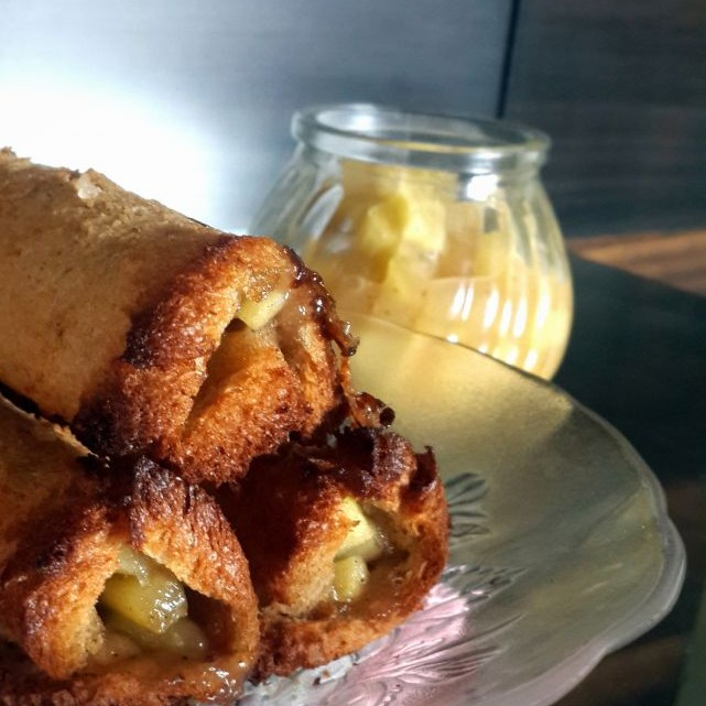 Photo of Baked Apple Pie Roll Ups by Vibha Bhutada at BetterButter