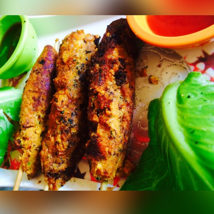 How to make Veg seekh kabab