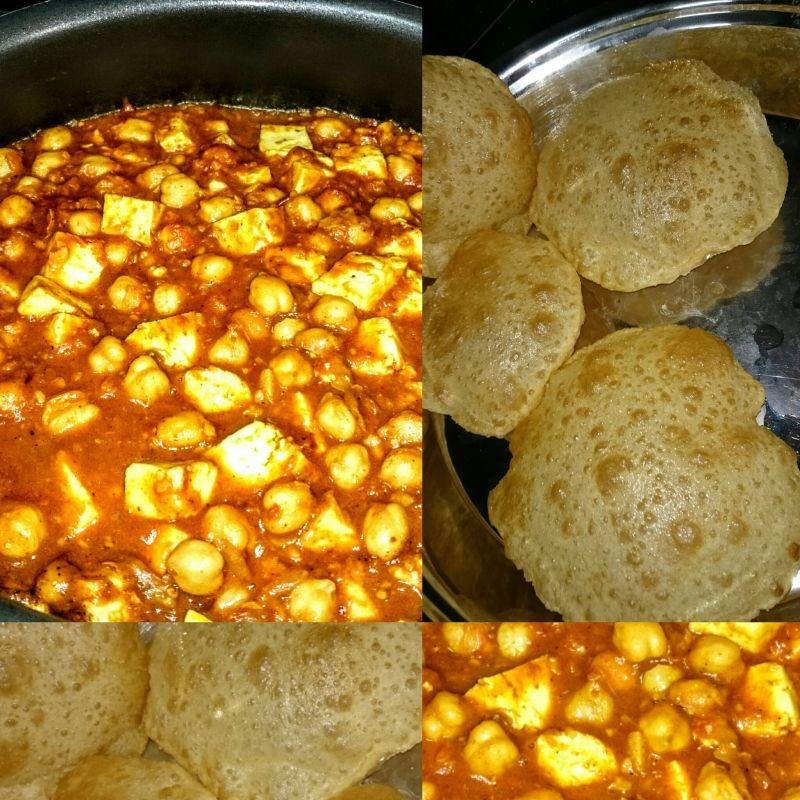 How to make Chole Puri