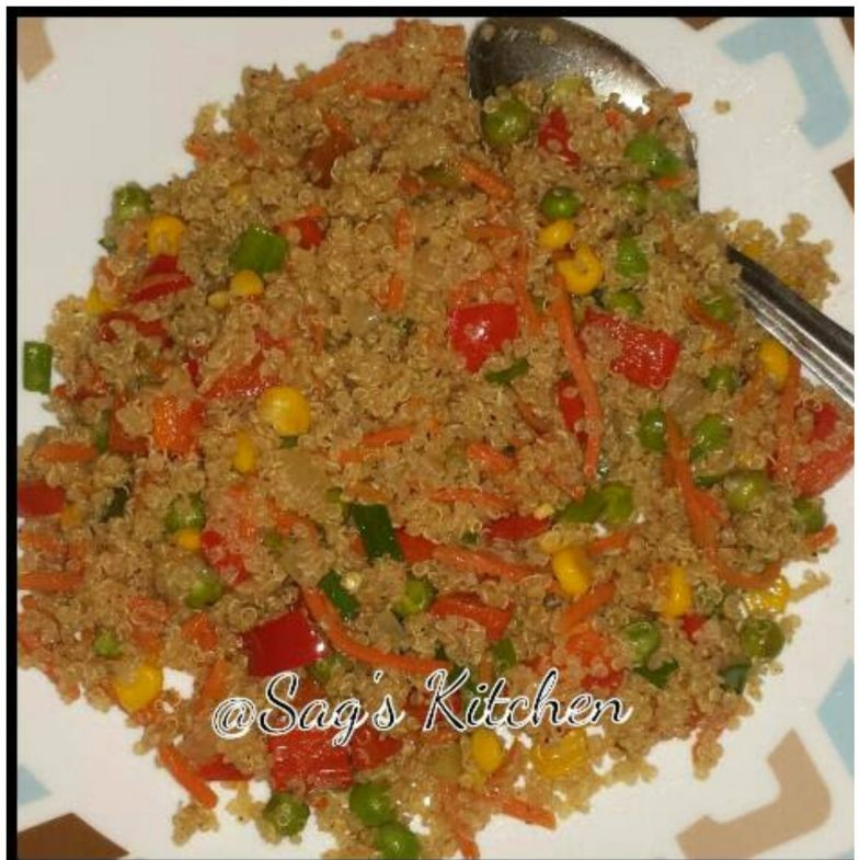 Photo of Quinoa Fried rice by Sagarika Sudharshan at BetterButter