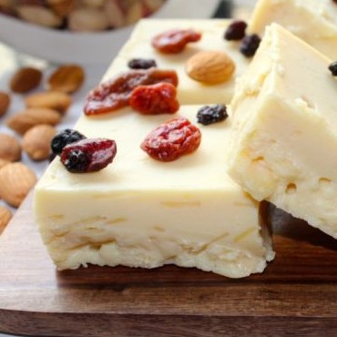 Photo of White Chocolate and Almond Fudge by Amrita Iyer at BetterButter