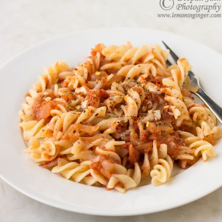 Photo of Pasta in Pizza Sauce by Deepali Jain at BetterButter