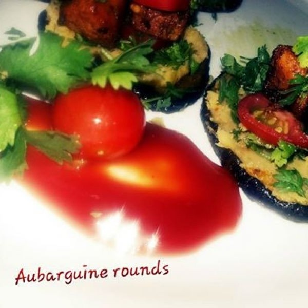 How to make Aubergine Rounds