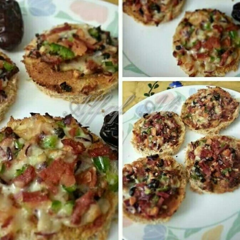 Photo of Bread Pizza by Affaf Ali at BetterButter