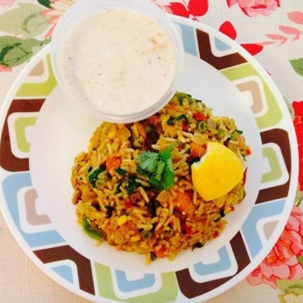 How to make Tawa Pulao (Mumbai Street Food)