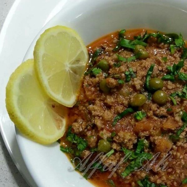 Photo of Matar Keema cooked in Biryani Gravy by Affaf Ali at BetterButter