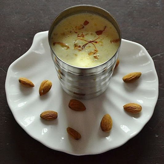 Photo of Badaam Paal (Almond milk) by Rafeeda AR at BetterButter