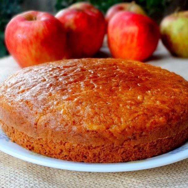 How to make Egg less Apple Snack Cake