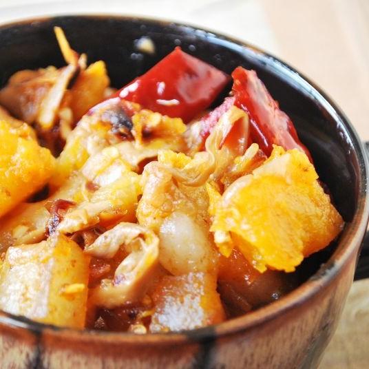 Photo of Pumpkin & Pork Fry by Christina Panmei at BetterButter