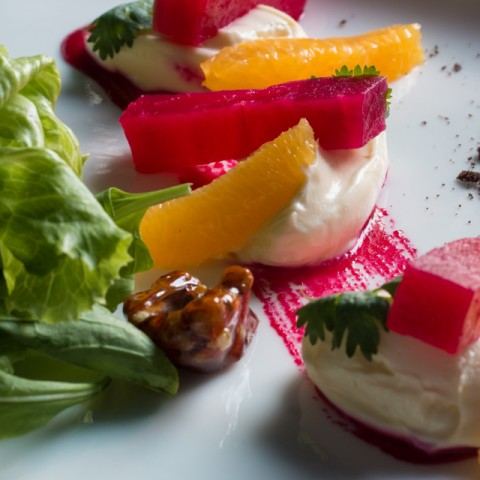 How to make Beet root and Mascarpone Salad