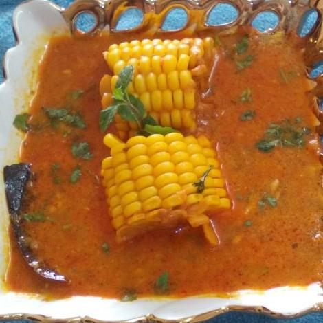 How to make भुट्टे (कॉर्न) की सब्जी