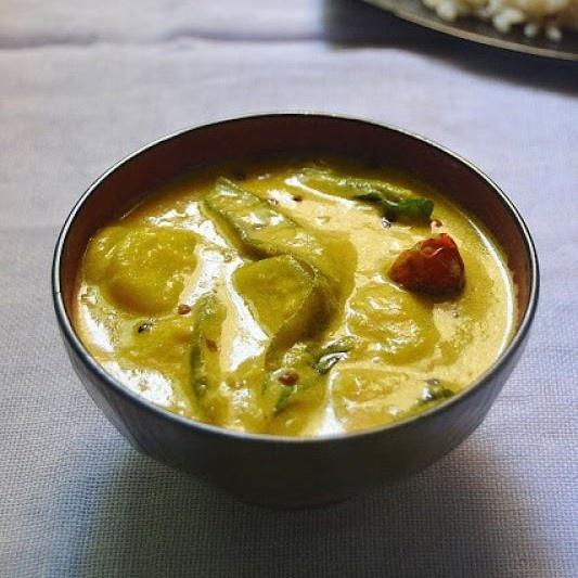 Photo of Koosa Pulinkari (Marrow Buttermilk Curry) by Rafeeda AR at BetterButter