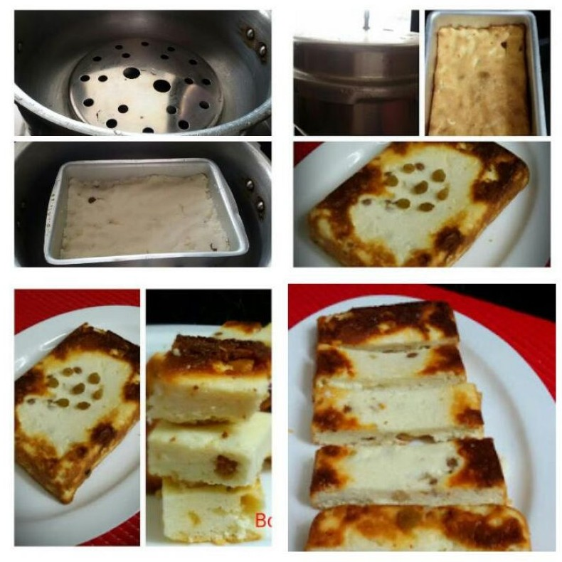 How to make Paneer Cake or Baked Cottage Cheese or Chana Poda