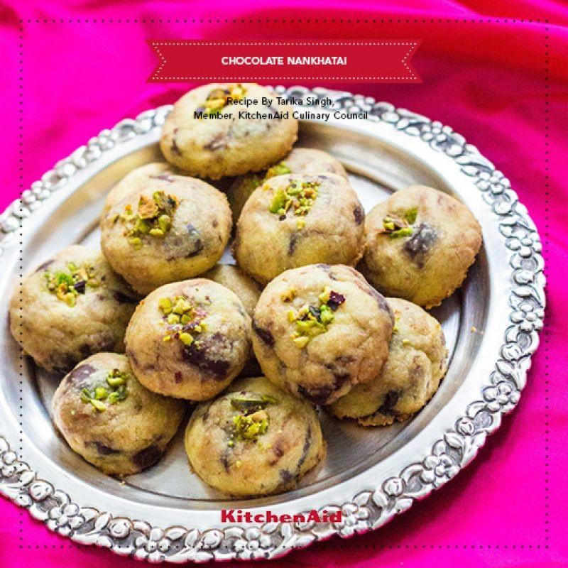 Photo of CHOCOLATE NANKHATAI by KitchenAid India at BetterButter