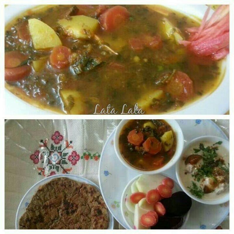 How to make Gajar Methi Alu ki Rassewali Sabzi