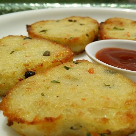 How to make Semolina Heart Cutlets