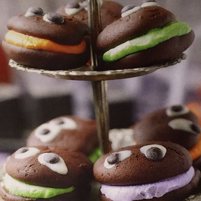 Photo of Spooky Whoopies by Shaima I at BetterButter