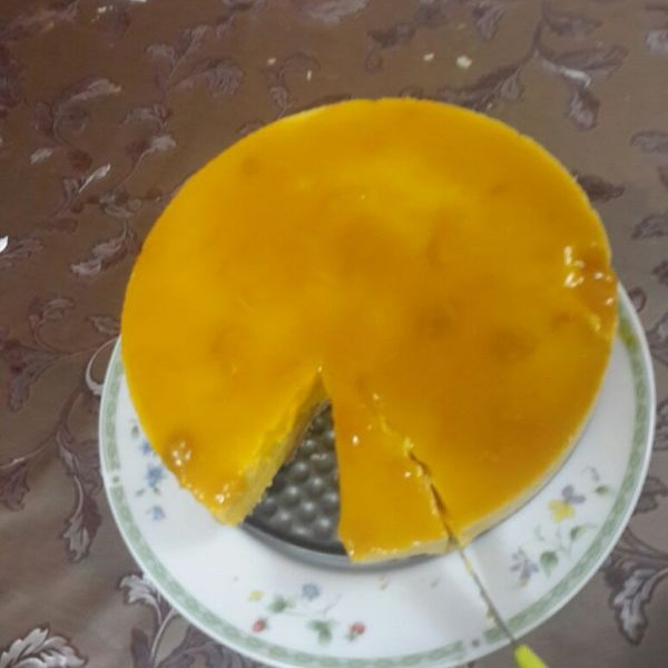Photo of Mango cheese cake by Faheema Delvi at BetterButter