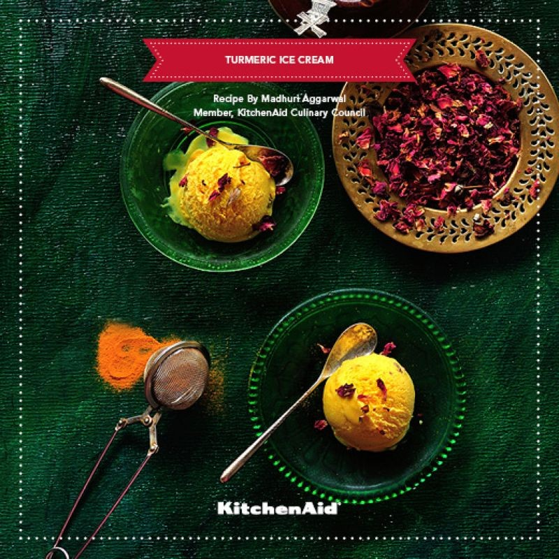 Photo of TURMERIC ICE-CREAM by KitchenAid India at BetterButter