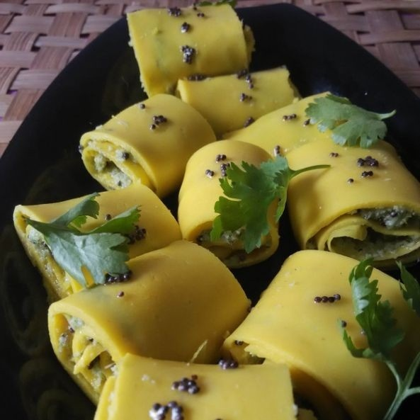 How to make Khandvi with a twist
