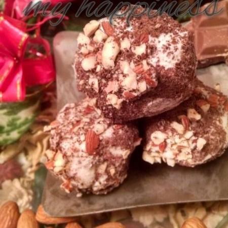 Photo of Chocolate snowballs by Kalpana Vinay at BetterButter
