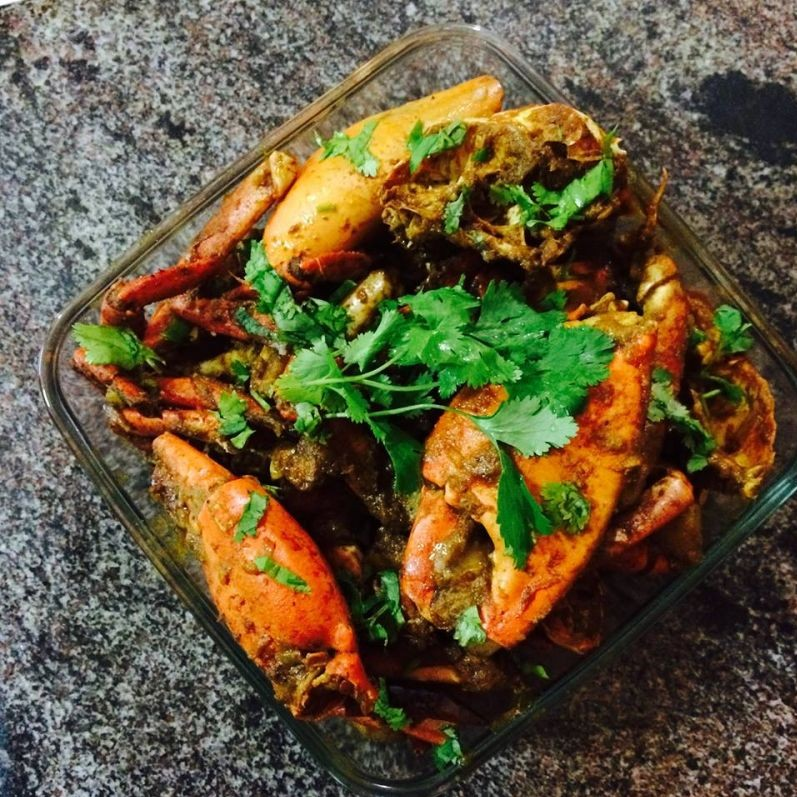 Photo of Spicy Bengali Style Crab Curry by Ipsita Pal at BetterButter