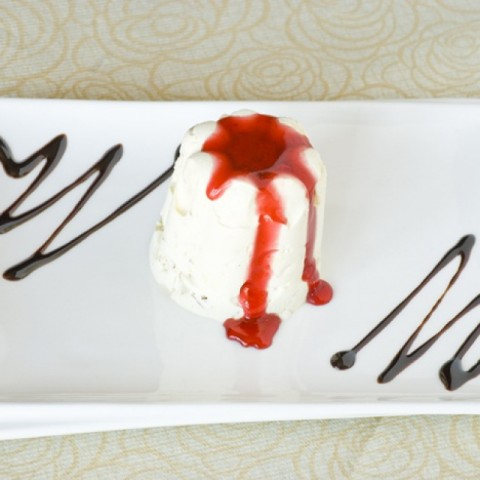 How to make Semifreddo with berry coulis