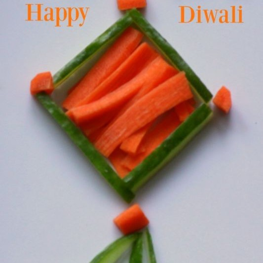 How to make Edible Diwali Kandeel