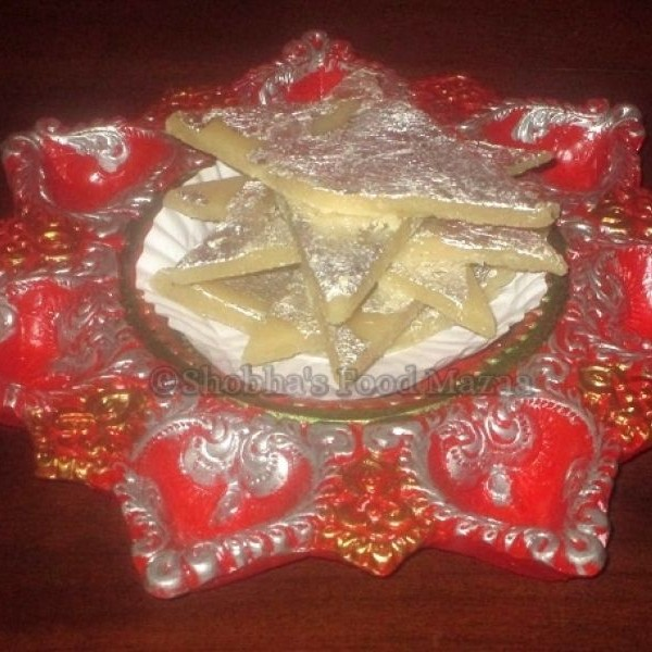 Photo of Badam Katli by Shobha Keshwani at BetterButter