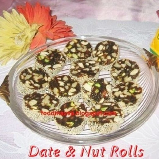 How to make Date and Nut Rolls