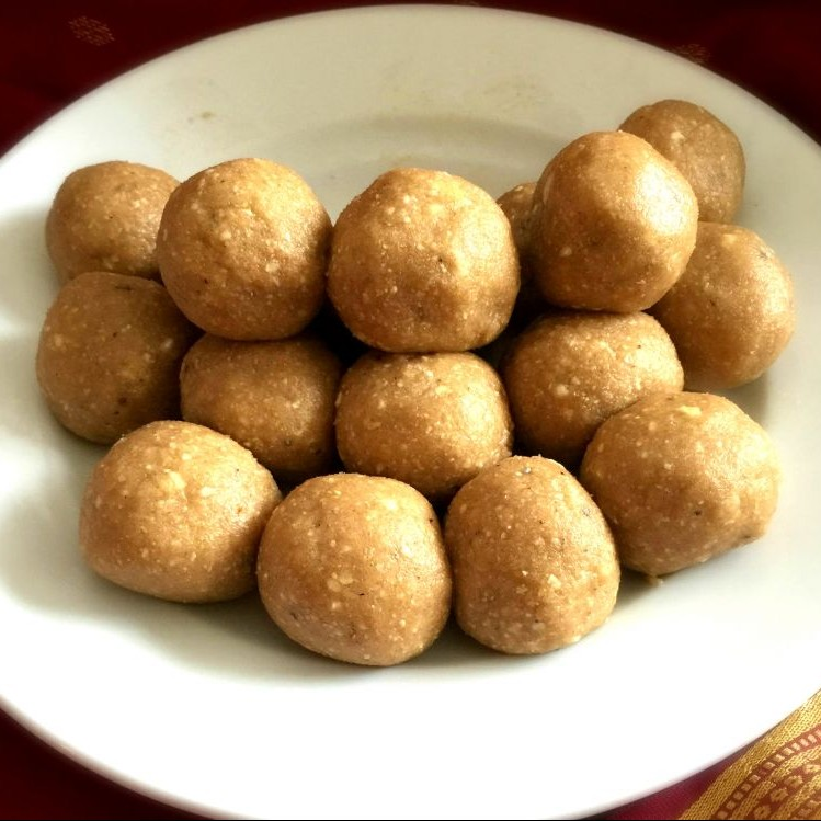 Photo of Nutty Wheat Ladoos by Pooja Nadkarni at BetterButter