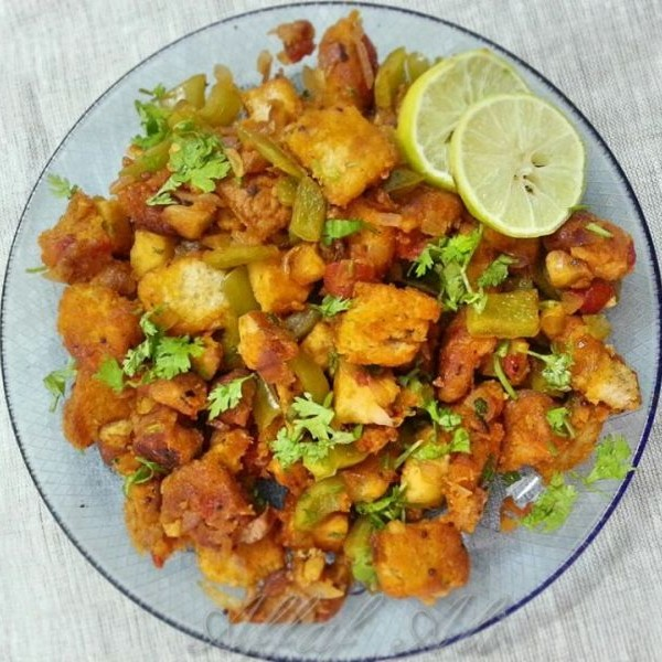 Photo of Bread Upma by Affaf Ali at BetterButter