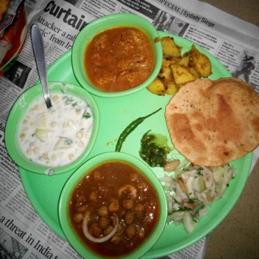 Photo of Sunday Special Chatpata Chana Puri by GAZAL UPVEJA at BetterButter
