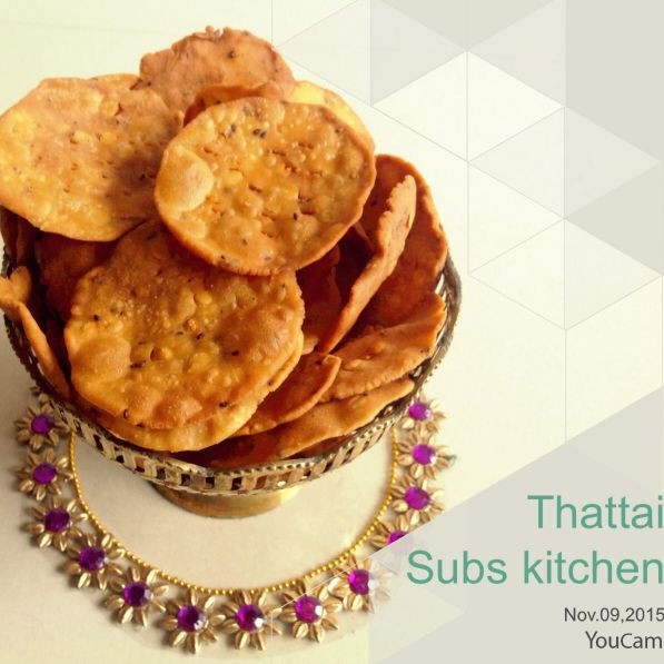 Photo of Thattai by Subha Prakash at BetterButter