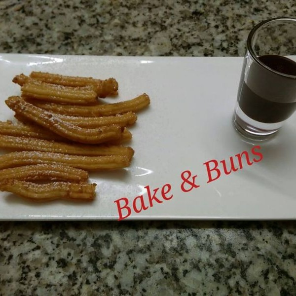 How to make Churros with yummy chocolate Sauce