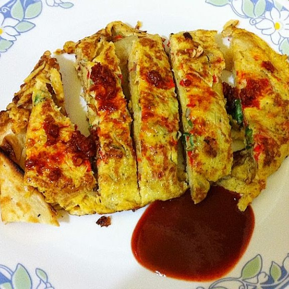 Photo of Naan-Omelette Wrap by Pritha Sen at BetterButter