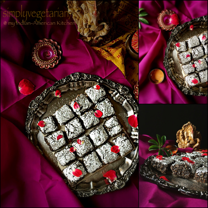 Photo of Kaju & Chocolate Barfi by Sonal Gupta at BetterButter