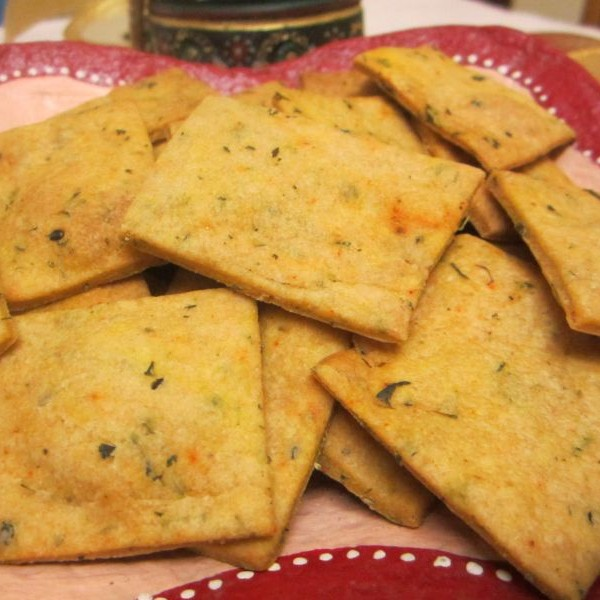 Photo of Healthy Diwali Treats : Baked Wholewheat Mathri by Donna George at BetterButter