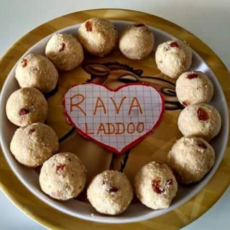 Photo of Sooji (Rava) Ladoo by Sushmita Amol at BetterButter